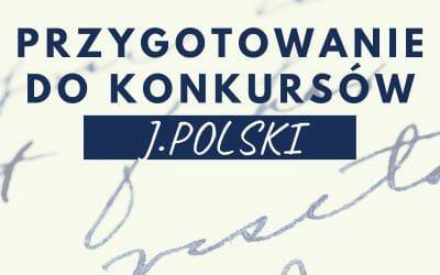 Lektury do konkursów kuratoryjnych – j. polski