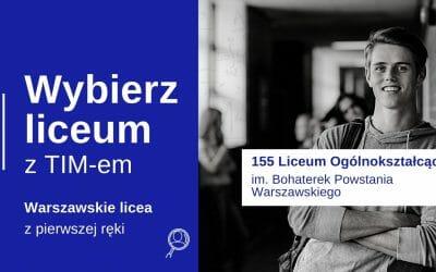 Wybierz Liceum z TIM – CLV LO im. Bohaterek Powstania Warszawskiego